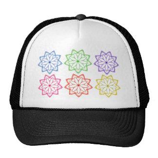Floral patterns trucker hat