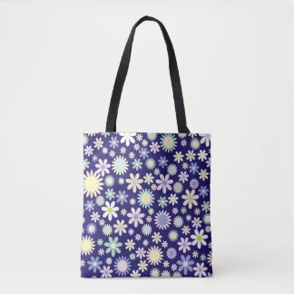 Floral Patterns Tote Bag