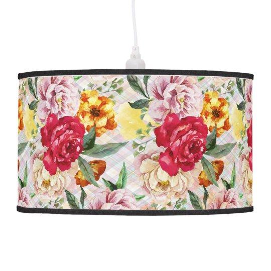 Floral Pendant Lamp