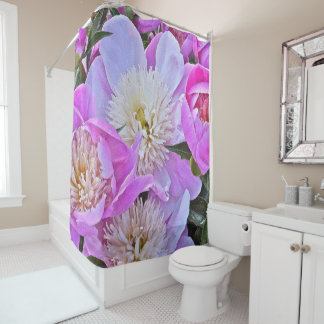 FLORAL/PEONIES SHOWER CURTAIN