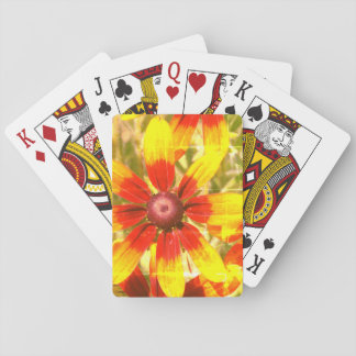 Floral Photo  Classic Playing Cards