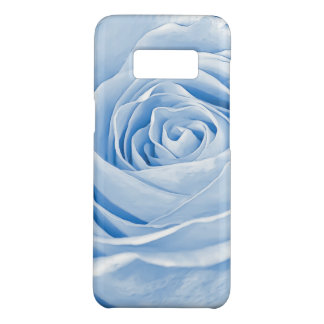 Floral Photo Dainty Light Blue Rose Case-Mate Samsung Galaxy S8 Case