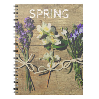 Floral Photo Notebook with beautiful flowers