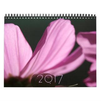 Floral Photography Custom 2017 Calendar