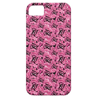 Floral Pink Collage Pattern Case For The iPhone 5
