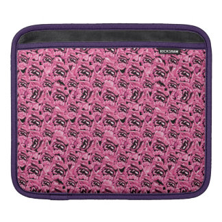 Floral Pink Collage Pattern iPad Sleeve