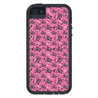 Floral Pink Collage Pattern iPhone 5 Cases