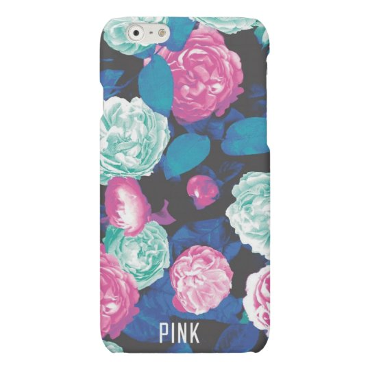 Floral PINK iPhone 6/6s Matte Finish Case
