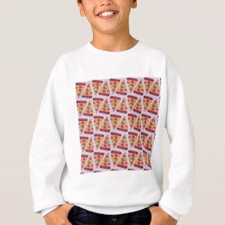 floral pizza sweatshirt