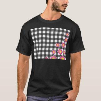 Floral plaid design T-Shirt
