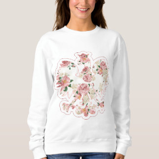 Floral Polish Eagle Sweatshirt
