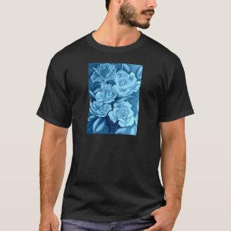 FLORAL POSTCARD IN BLUE T-Shirt