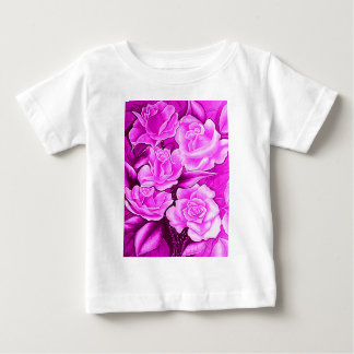 FLORAL POSTCARD IN ROSA BABY T-Shirt
