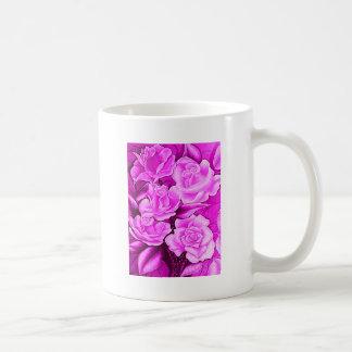 FLORAL POSTCARD IN ROSA COFFEE MUG