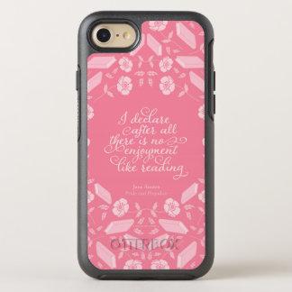 Floral Pride & Prejudice Jane Austen Bookish Quote OtterBox Symmetry iPhone 8/7 Case