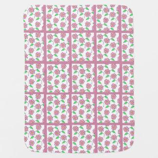 Floral Print Baby Blanket