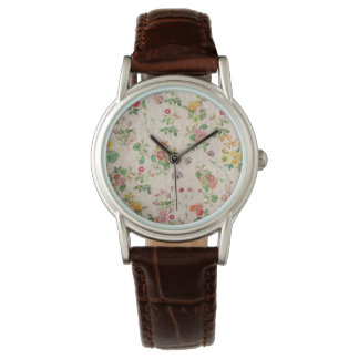 Floral Print Classic Watch