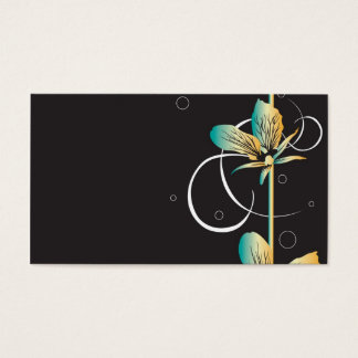 Floral Profile Card