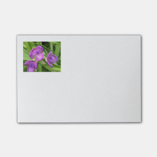 Floral Purple Post Its Post-it Notes