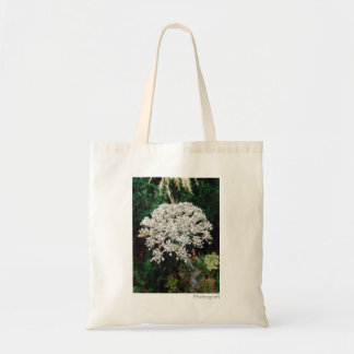 Floral 'Queen Anne's Lace' Tote Bag