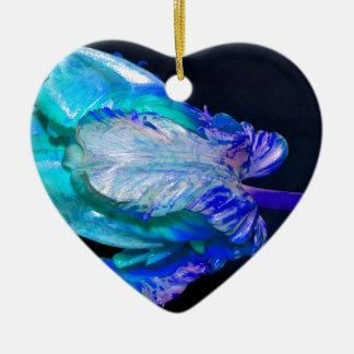Floral quietly Life with Tulip Ceramic Ornament