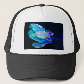 Floral quietly Life with Tulip Trucker Hat