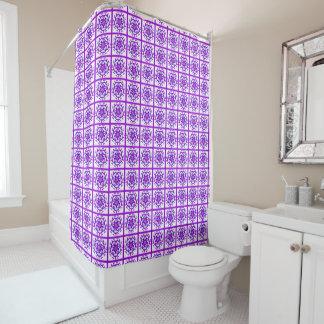 Floral Quilt Patch Pattern Purple Ultraviolet Mix