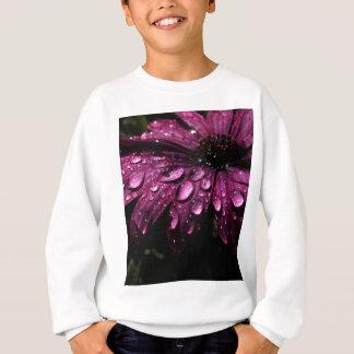 floral rain drops art design sweatshirt