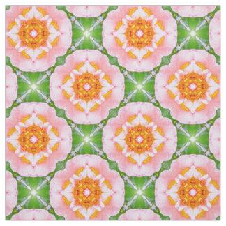floral retro pattern fabric