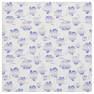 floral retro pattern fabric