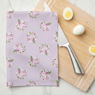Floral retro spring  pattern. kitchen towel