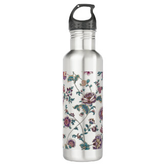 Floral Retro Vintage Style 710 Ml Water Bottle
