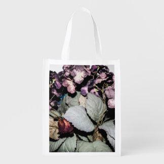 Floral Reusable Bag Reusable Grocery Bag