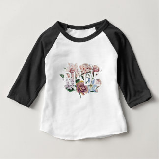 Floral Rude Baby T-Shirt