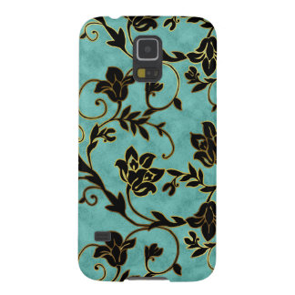 Floral Samsung Galaxy Nexus Phone Cover Blue