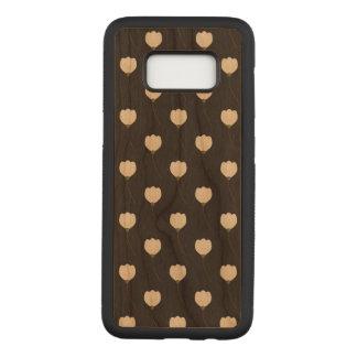 Floral Samsung Galaxy S8 Slim Cherry Wood Case