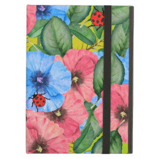 Floral scene cover for iPad air