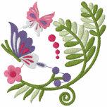 Floral Scrolls Hoodie