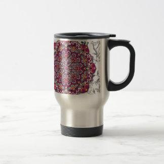 Floral Send it Travel Mug