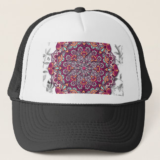 Floral Send it Trucker Hat