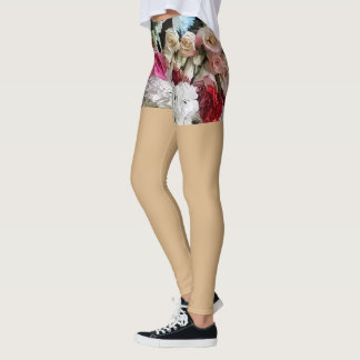 "Floral ""Shorts"" Leggings"