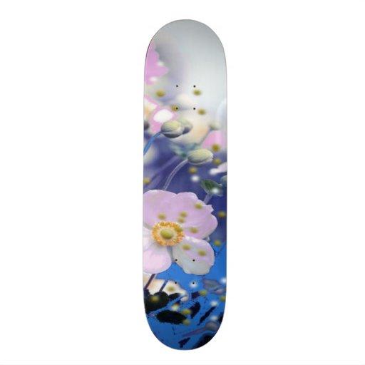 Floral Skate Board