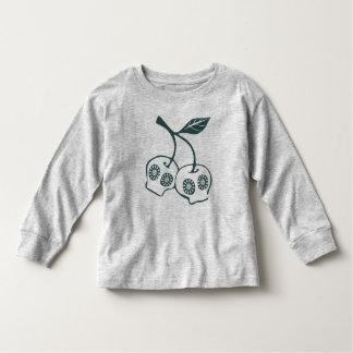 Floral Skull Apple Shirt