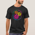Floral Social Worker T-Shirts