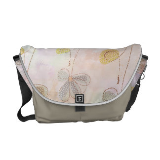Floral softness courier bags