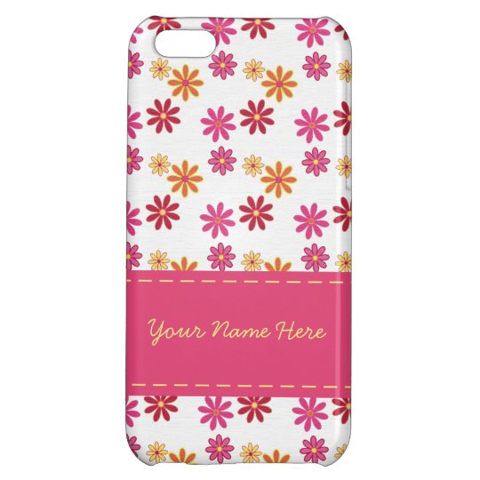 Floral Sorbet iPhone 5C Case