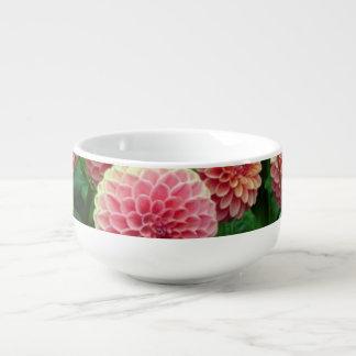 Floral soup mug