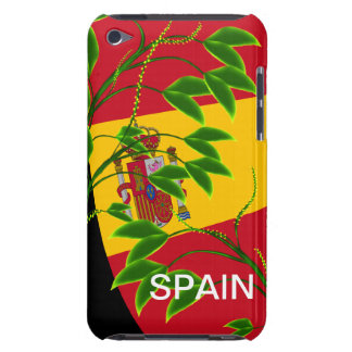 Floral Spain Flag Ipod Touch Case