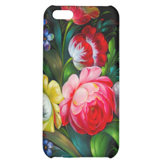 Floral Speck Case Cover For iPhone 5C