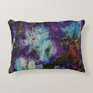 Floral Splash Decorative Pillow